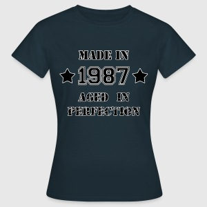 Made in 1987 Tee shirts - T-shirt Femme