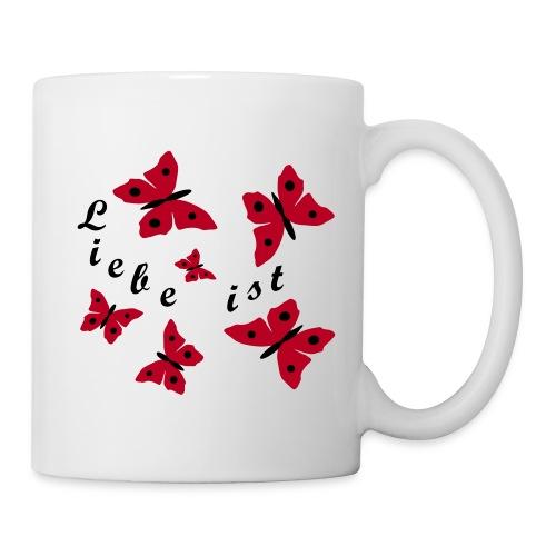 Schmetterlinge - Tasse