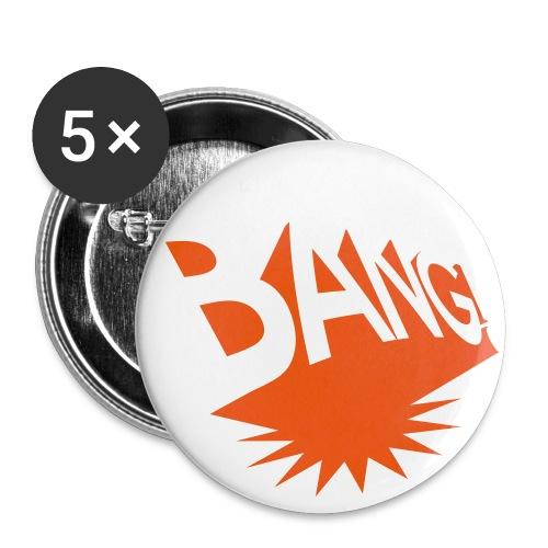 BANG Budget - Buttons groß 56 mm (5er Pack)