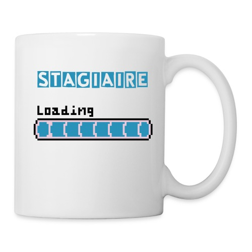 Stagiaire in progress - Mug blanc