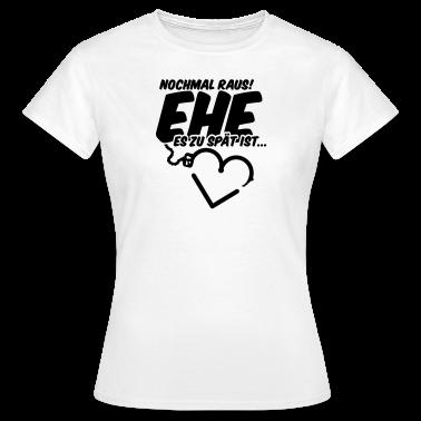 Hochzeit junggesellenabschied t shirt spreadshirt for T shirt sprüche junggesellenabschied