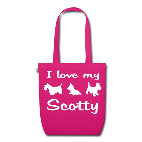 I Love my Scotch Terrier - Bio-Stoffbeutel