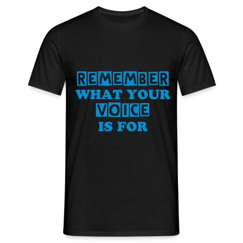 REMEMBER T-SHIRT BLUEPRINT - Men's T-Shirt