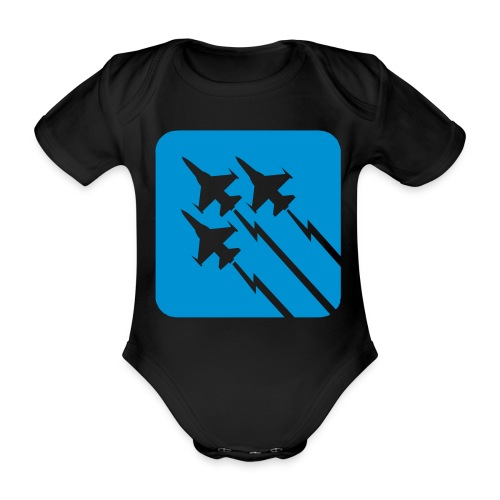 Air Force Baby Onsie - Body Bébé bio manches courtes