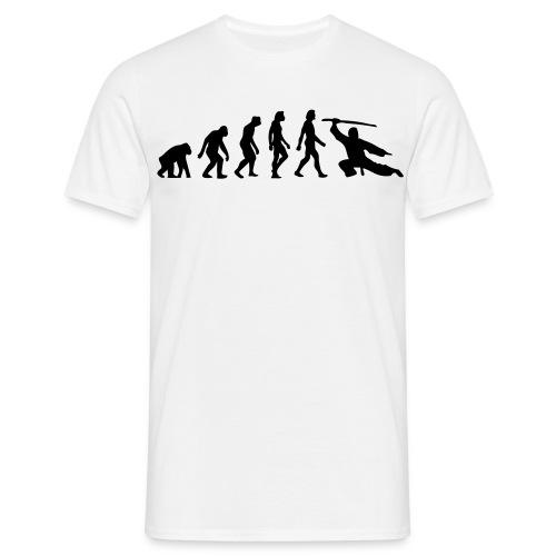 T-Shirt Evolution for Man in verschiedenen Farben erhältlich - Männer T-Shirt