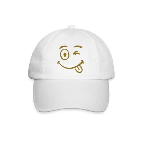 pet met smilie - Baseballcap