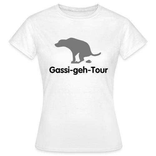 Gassi T-Shirt - Frauen T-Shirt