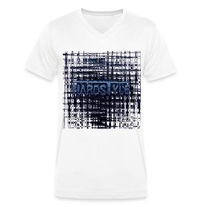 Men T- shirt V-neck - Mannen bio T-shirt met V-hals van Stanley & Stella