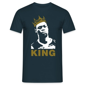 God Save the King - Navy/White/Gold T-Shirt - Men's T-Shirt