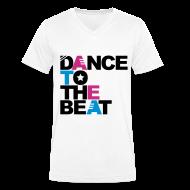 T-shirts ~ Mannen T-shirt met V-hals ~ Men V-hals: Jeff Residenza - Dance