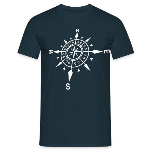 Matrose Windrose - Männer T-Shirt