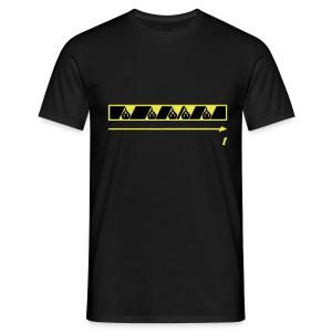 Trespassing Beat - Men's T-Shirt
