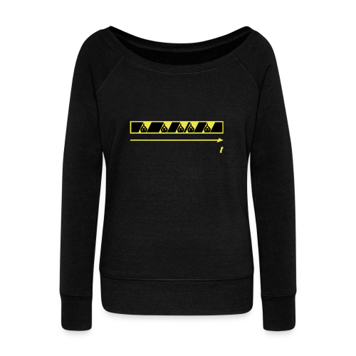 Trespassing Beat - Women's Boat Neck Long Sleeve Top