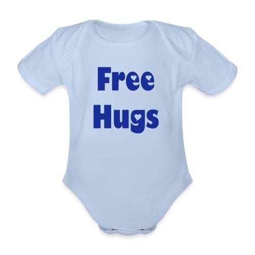 Free Hugs! - Baby Bio-Kurzarm-Body