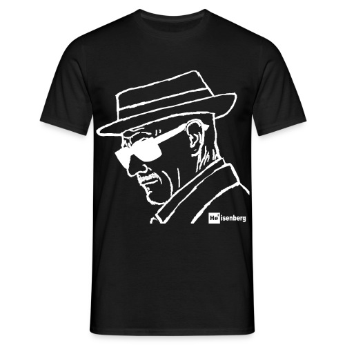 Heisenberg in White - Men's T-Shirt