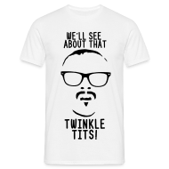 T-Shirts ~ Men's T-Shirt ~ Mens Twinkle Tits