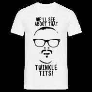 T-Shirts ~ Men's T-Shirt ~ Mens Twinkle Tits