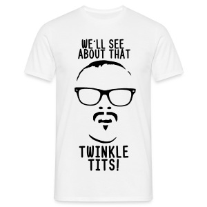 Mens Twinkle Tits - Men's T-Shirt