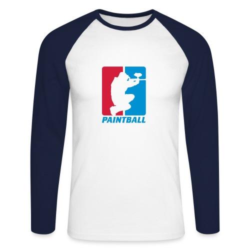 Männer langärmeliges Baseballshirt - Männer Baseballshirt langarm