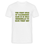 T-Shirts ~ Men's T-Shirt ~ The first rule of Palindrome Club