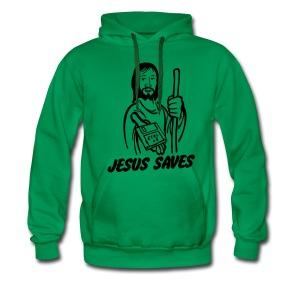 Grappige Herensweater Jesus saves - Mannen Premium hoodie
