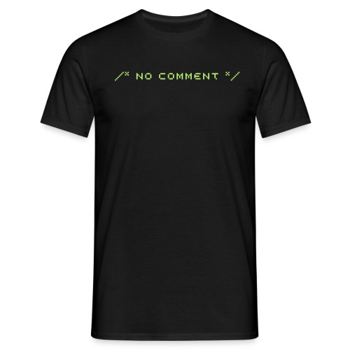 /* no comment */ shirt - Männer T-Shirt