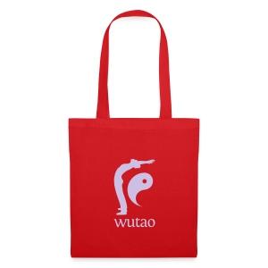 Sac en tissu rouge Wutao - Tote Bag