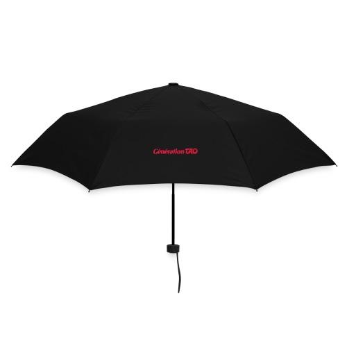 Petit parapluie noir Génération Tao - Parapluie standard