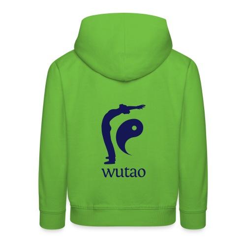 Pull à capuche enfant orange Wutao - Pull à capuche Premium Enfant