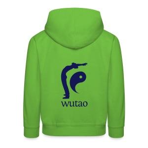 Pull à capuche enfant vert Wutao - Pull à capuche Premium Enfant