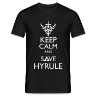 T-Shirts ~ Men's T-Shirt ~ Zelda - Keep Calm and Save Hyrule