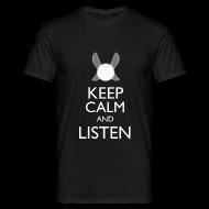 T-Shirts ~ Men's T-Shirt ~ Zelda - Keep Calm and Listen