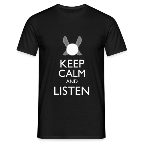 Zelda - Keep Calm and Listen - Men's T-Shirt