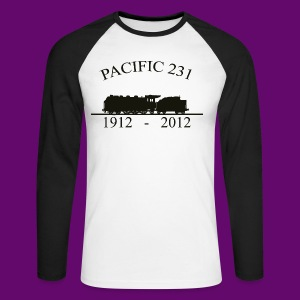 PACIFIC 231 (1912 - 2012) - T-shirt baseball manches longues Homme