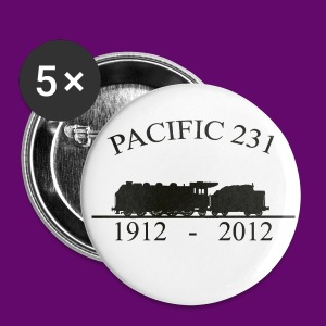 PACIFIC 231 (1912 - 2012) - Badge grand 56 mm