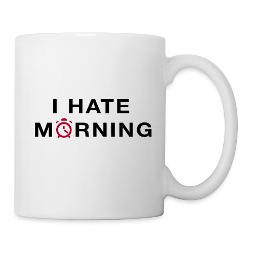 (Tasse) I hate morning !  - Mug blanc