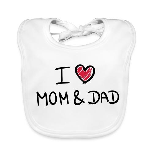 (Bavoir) Mom and Dad - Bavoir bio Bébé
