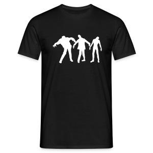 Zombie Line-up - Men's T-Shirt