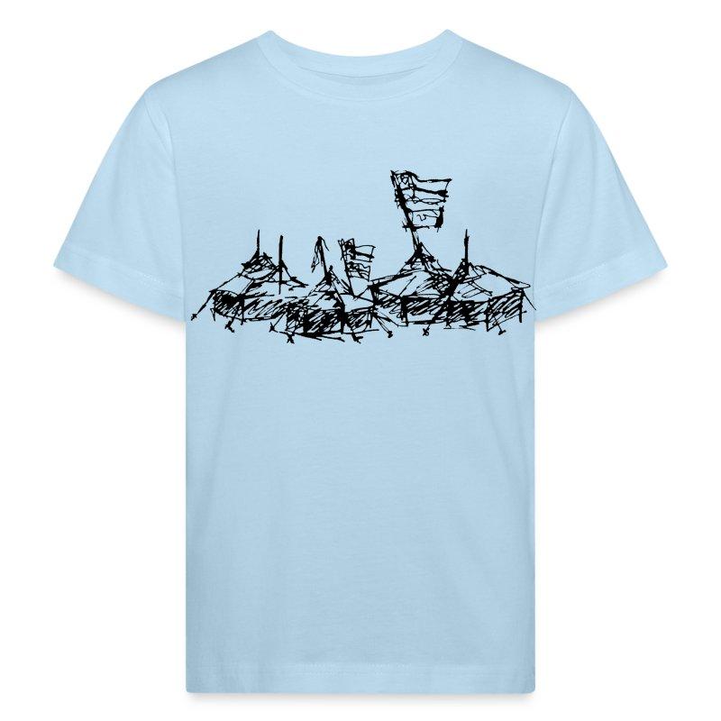 ... mein Dorf - Kinder Bio-T-Shirt