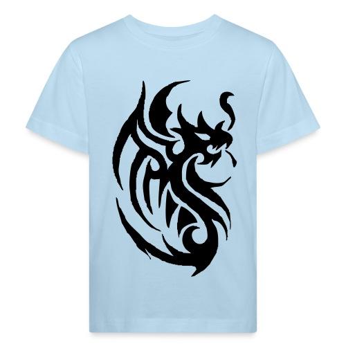 Tee-shirt Tribal Tatoo Dragon pour enfant - T-shirt bio Enfant
