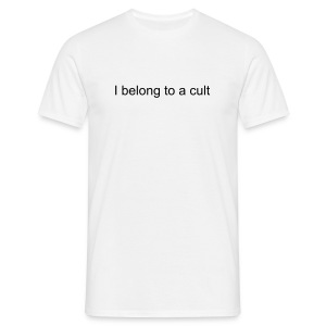 [FUN] CULT MEMBER (BLACK) - Men's T-Shirt