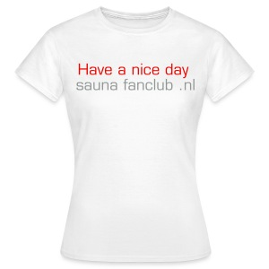Dames fun partner shirt 1 - Vrouwen T-shirt