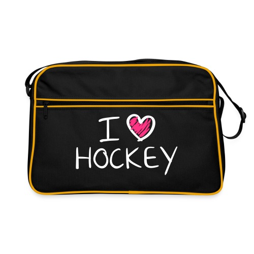 Sporttas hockey - Retro-tas