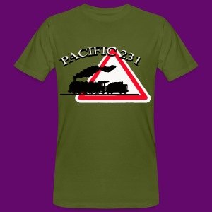 LOCOMOTIVE VAPEUR PACIFIC 231 DANGER - T-shirt bio Homme