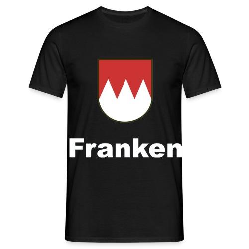Fänkisch 2-seitig    Schrift:Weiss - Männer T-Shirt