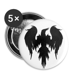 TheCrowsOmen Badge - Buttons large 56 mm