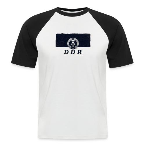 DDR « ostalgia 1 - Maglia da baseball a manica corta da uomo