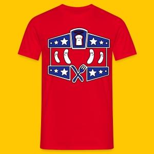 Vive La Sausage - Men's T-Shirt