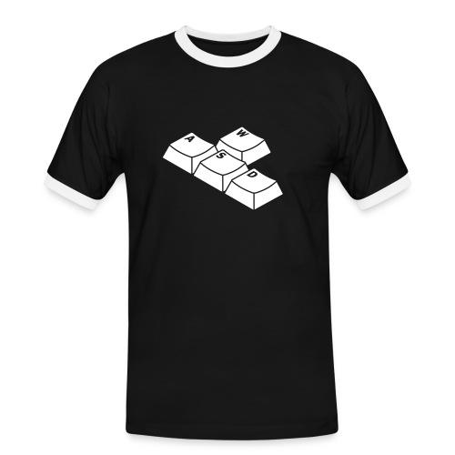 WASD - Männer Kontrast-T-Shirt