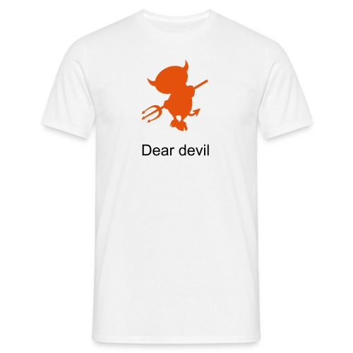 Dear devil, Herr - T-shirt herr